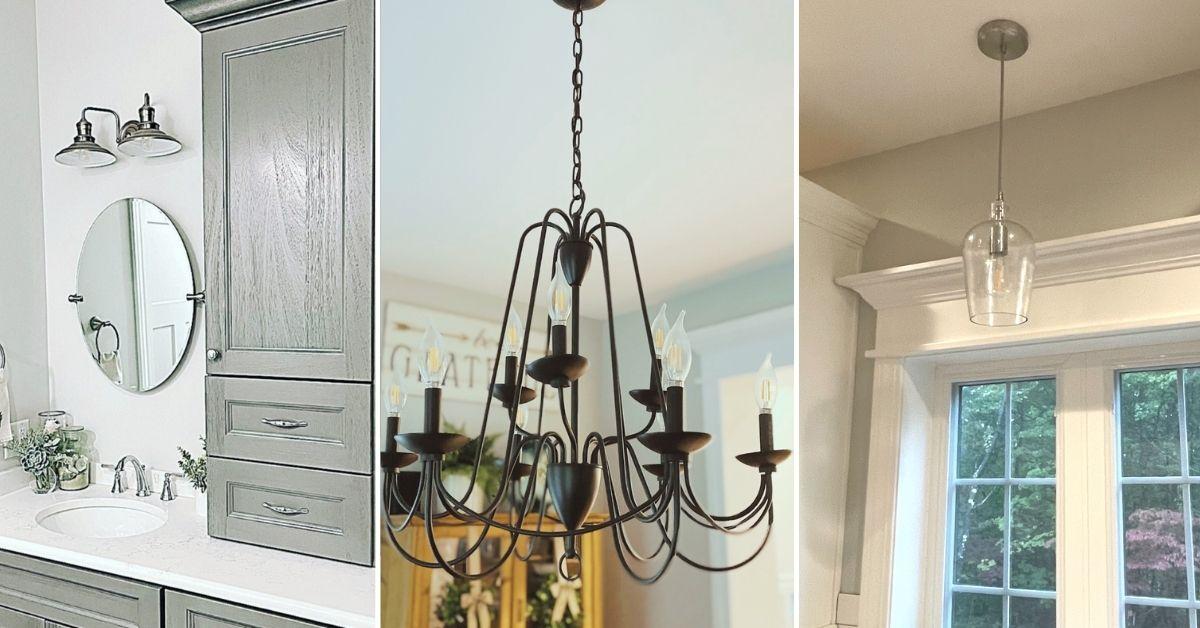 Farmhouse lighting, farmhouse chandelier